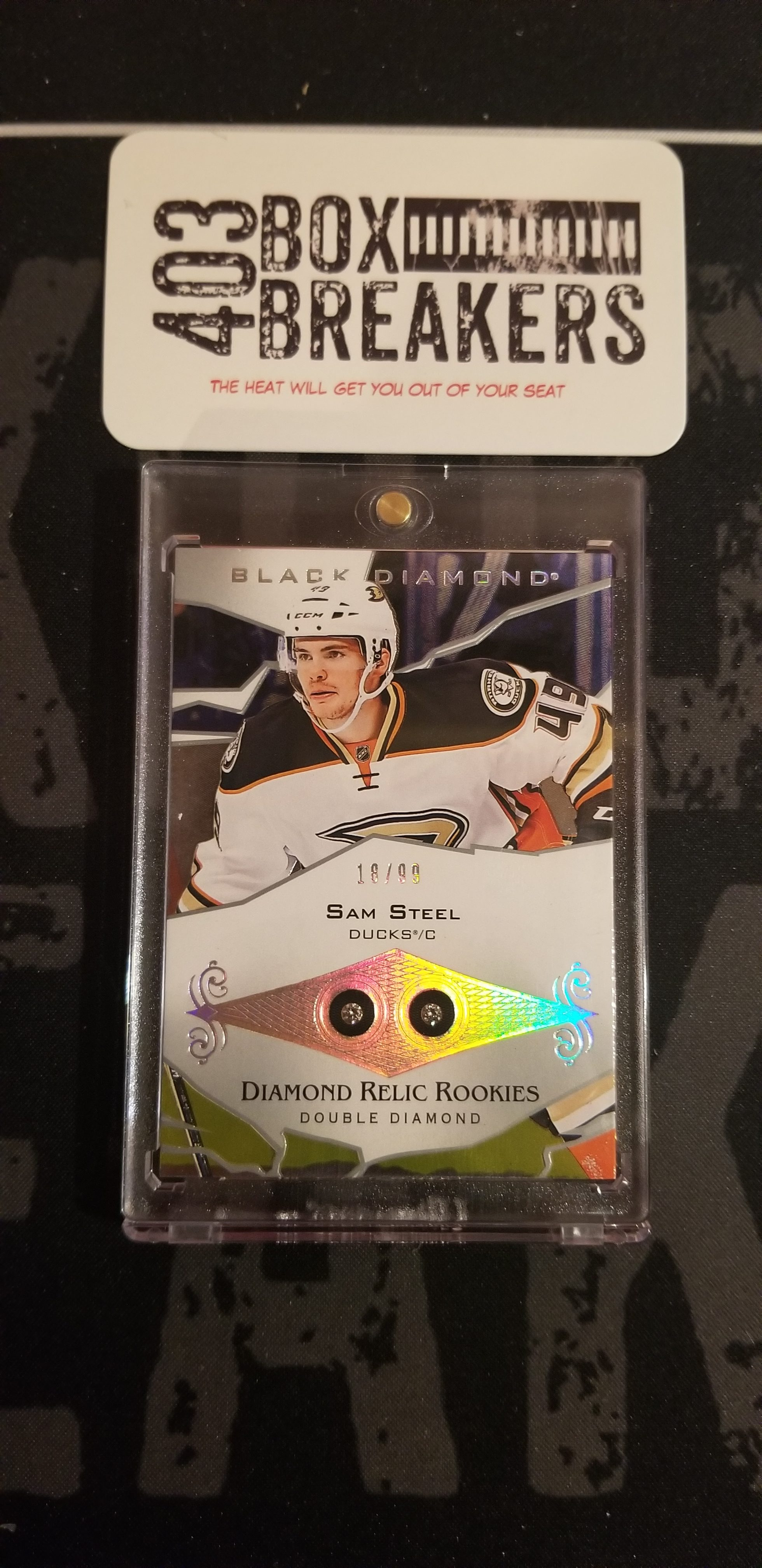 18/19 Upper Deck Black Diamond Master – July 31, 2019