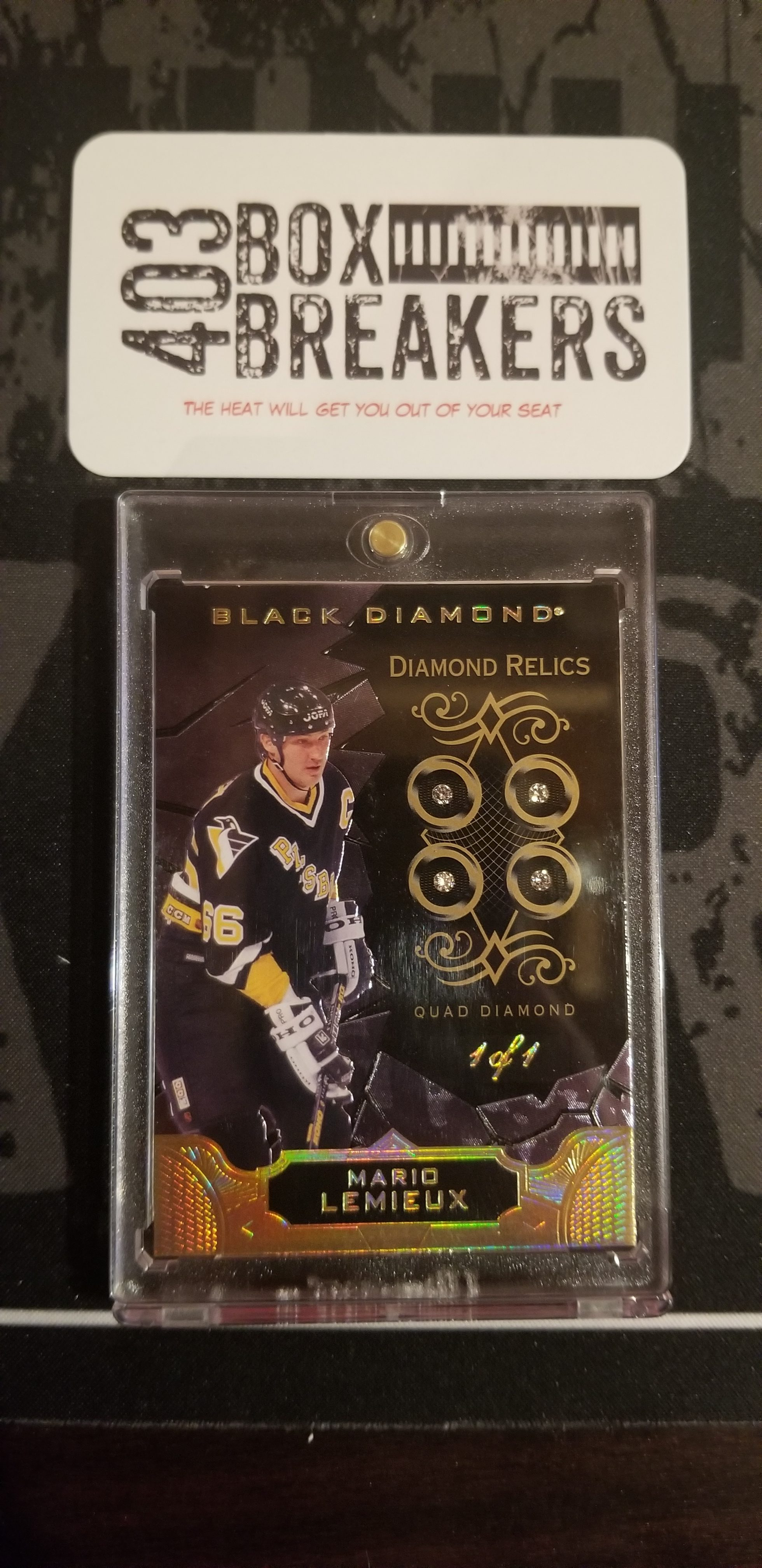 18/19 Upper Deck Black Diamond – August 8, 2019